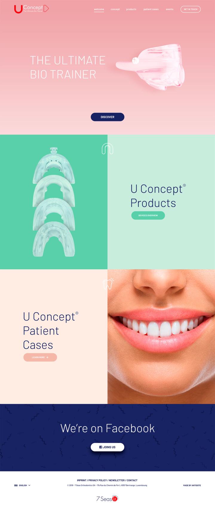 U Concept › Homepage
